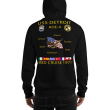 Load image into Gallery viewer, USS Detroit (AOE-4) 1971 Cruise Hoodie