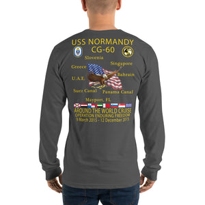 USS Normandy (CG-60) 2015 Long Sleeve Cruise Shirt