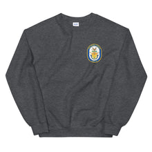 Load image into Gallery viewer, USS Mesa Verde (LPD-19) Ship's Crest Sweatshirt
