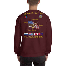 Load image into Gallery viewer, USS Mars (AFS-1) 1980 Cruise Sweatshirt