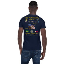 Load image into Gallery viewer, USS Forrestal (CVA-59) 1967 Cruise Shirt