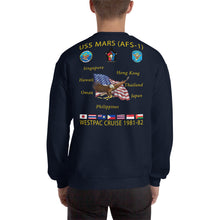 Load image into Gallery viewer, USS Mars (AFS-1) 1981-82 Cruise Sweatshirt