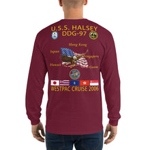 Load image into Gallery viewer, USS Halsey (DDG-97) 2006 Long Sleeve Cruise Shirt