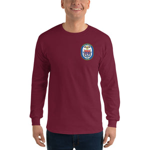 USS Anzio (CG-68) 2015 Long Sleeve Cruise Shirt