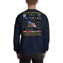 Load image into Gallery viewer, USS George Washington (CVN-73) 2000 Cruise Sweatshirt
