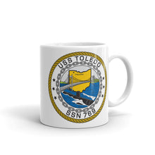 Load image into Gallery viewer, USS Toledo (SSN-769) Ship's Crest Mug