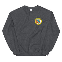Load image into Gallery viewer, USS Peleliu (LHA-5) Ship's Crest Sweatshirt