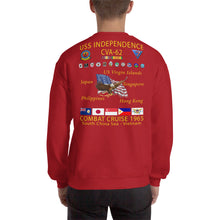 Load image into Gallery viewer, USS Independence (CVA-62) 1965 Cruise Sweatshirt
