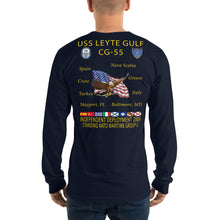 Load image into Gallery viewer, USS Leyte Gulf (CG-55) 2009 Long Sleeve Cruise Shirt