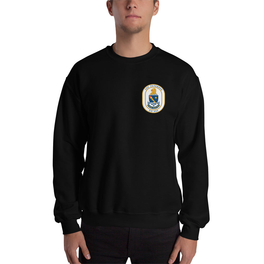 USS Peterson (DD-969) 1988 Cruise Sweatshirt