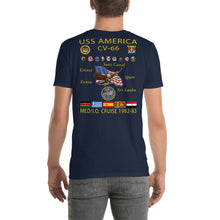 Load image into Gallery viewer, USS America (CV-66) 1982-83 Cruise Shirt