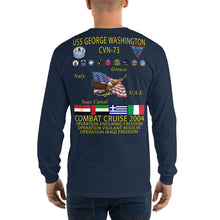 Load image into Gallery viewer, USS George Washington (CVN-73) 2004 Long Sleeve Cruise Shirt