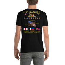 Load image into Gallery viewer, USS Ranger (CVA-61) 1965-66 Cruise Shirt