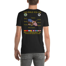 Load image into Gallery viewer, USS Dale (CG-19) 1991 Cruise Shirt