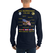Load image into Gallery viewer, USS Normandy (CG-60) 1991-92 Long Sleeve Cruise Shirt