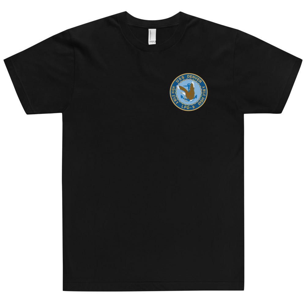 USS Denver (LPD-9) Ship's Crest Shirt