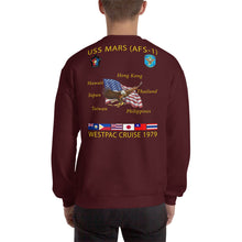 Load image into Gallery viewer, USS Mars (AFS-1) 1979 Cruise Sweatshirt