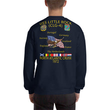 Load image into Gallery viewer, USS Little Rock (CLG-4) 1972 Cruise Sweatshirt