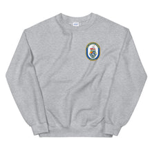 Load image into Gallery viewer, USS Arleigh Burke (DDG-51) Ship's Crest Sweatshirt