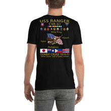 Load image into Gallery viewer, USS Ranger (CVA-61) 1970-71 Cruise Shirt