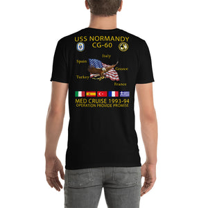 USS Normandy (CG-60) 1993-94 Cruise Shirt