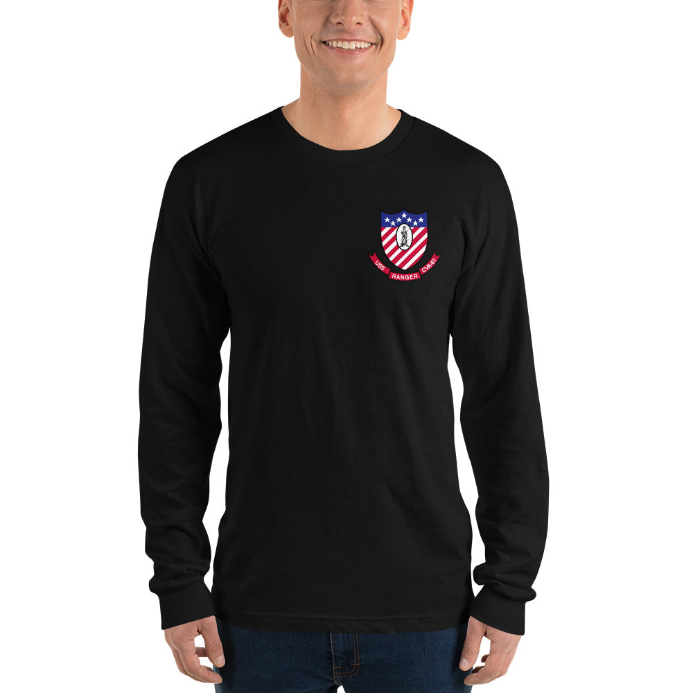 USS Ranger (CVA-61) 1968-69 Long Sleeve Cruise Shirt