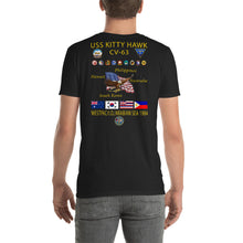 Load image into Gallery viewer, USS Kitty Hawk (CV-63) 1984 Cruise Shirt