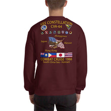 Load image into Gallery viewer, USS Constellation (CVA-64) 1966 Cruise Sweatshirt