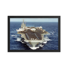 Load image into Gallery viewer, USS Carl Vinson (CVN-70) Framed Ship Photo