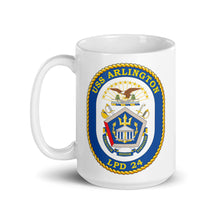 Load image into Gallery viewer, USS Arlington (LPD-24) Ship's Crest Mug