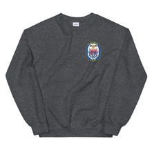 Load image into Gallery viewer, USS Anzio (CG-68) Ship's Crest Sweatshirt