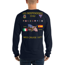Load image into Gallery viewer, USS Independence (CV-62) 1977 Long Sleeve Cruise Shirt
