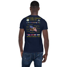Load image into Gallery viewer, USS Carl Vinson (CVN-70) 1983 Cruise Shirt