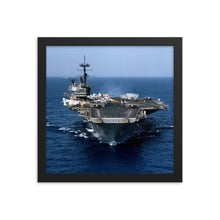 Load image into Gallery viewer, USS Saratoga (CV-60) Framed Ship Photo