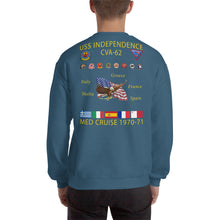 Load image into Gallery viewer, USS Independence (CVA-62) 1970-71 Cruise Sweatshirt