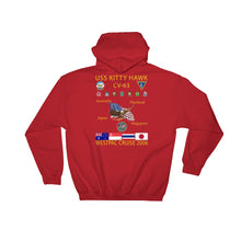 Load image into Gallery viewer, USS Kitty Hawk (CV-63) 2006 Cruise Hoodie
