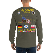 Load image into Gallery viewer, USS Anzio (CG-68) 2001 Long Sleeve Cruise Shirt
