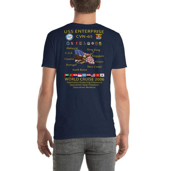 USS Enterprise (CVN-65) 2006 Cruise Shirt