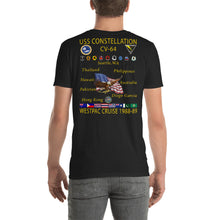 Load image into Gallery viewer, USS Constellation (CV-64) 1988-89 Cruise Shirt