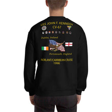 Load image into Gallery viewer, USS John F. Kennedy (CV-67) 1996 Cruise Sweatshirt