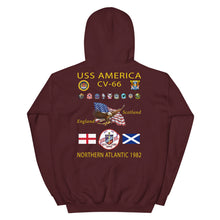 Load image into Gallery viewer, USS America (CV-66) 1982 Cruise Hoodie