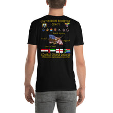 Load image into Gallery viewer, USS Theodore Roosevelt (CVN-71) 2008-09 Cruise Shirt