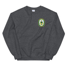 Load image into Gallery viewer, USS Green Bay (LPD-20) Ship's Crest Sweatshirt