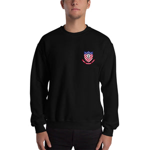 USS Ranger (CV-61) 1991 Cruise Sweatshirt - Map