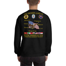 Load image into Gallery viewer, USS Boxer (LHD-4) 2016 Cruise Sweatshirt
