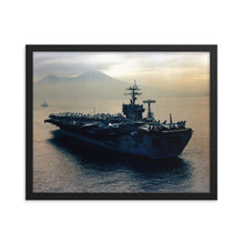 Load image into Gallery viewer, USS Nimitz (CVN-68) Framed Ship Photo