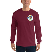 Load image into Gallery viewer, USS Blue Ridge (LCC-19) 2016 Long Sleeve Patrol Shirt - Map