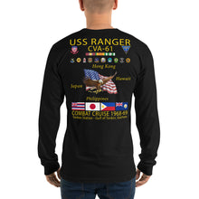Load image into Gallery viewer, USS Ranger (CVA-61) 1968-69 Long Sleeve Cruise Shirt