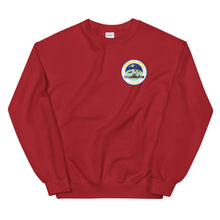 Load image into Gallery viewer, USS Blue Ridge (LCC-19) Ship's Crest Sweatshirt