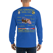 Load image into Gallery viewer, USS Gravely (DDG-107) 2015-16 Long Sleeve Cruise Shirt